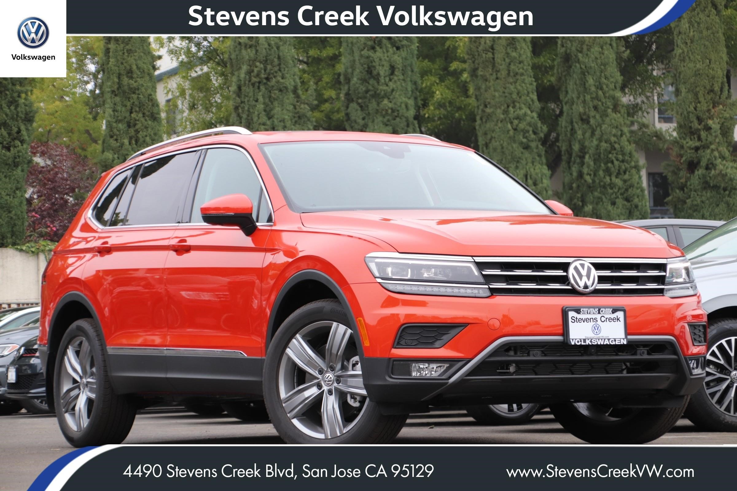 New 2019 Volkswagen Tiguan SEL Premium With Navigation & AWD VIN 3VV4B7AXXKM140784 MSRP $40,000