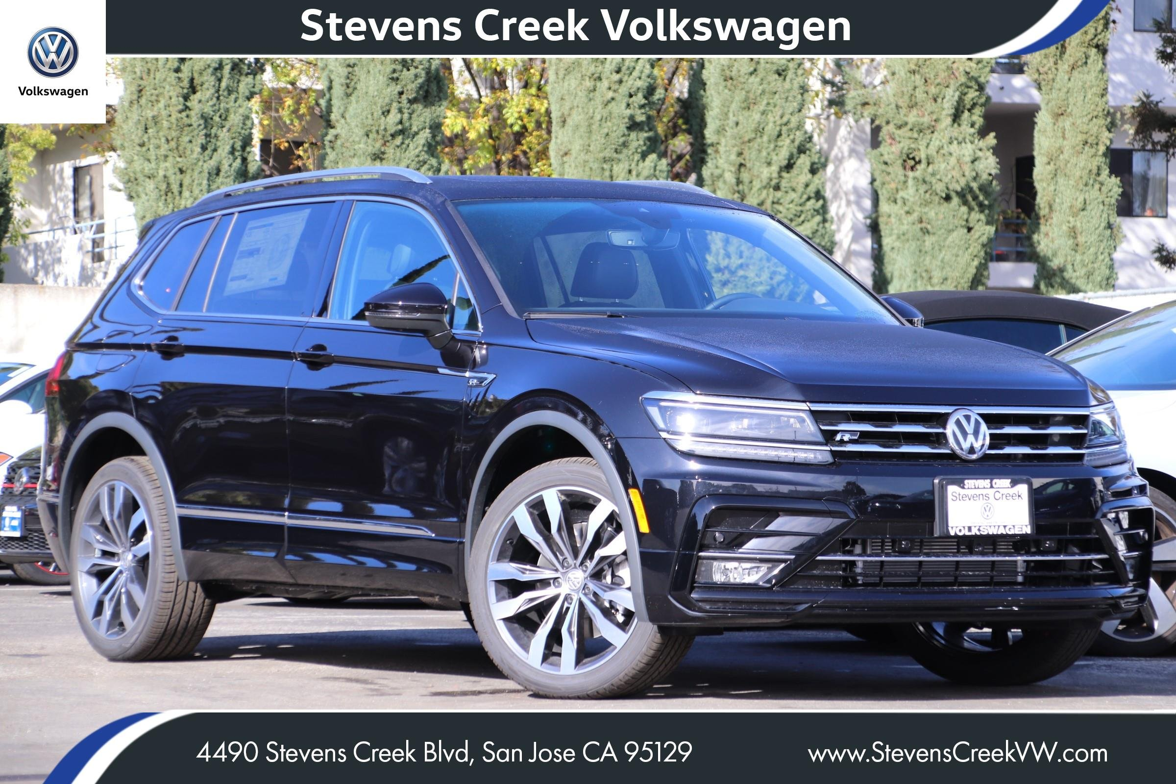 New 2020 Volkswagen Tiguan SEL Premium R-Line With Navigation & AWD VIN 3VV4B7AXXLM089028 MSRP $41,110