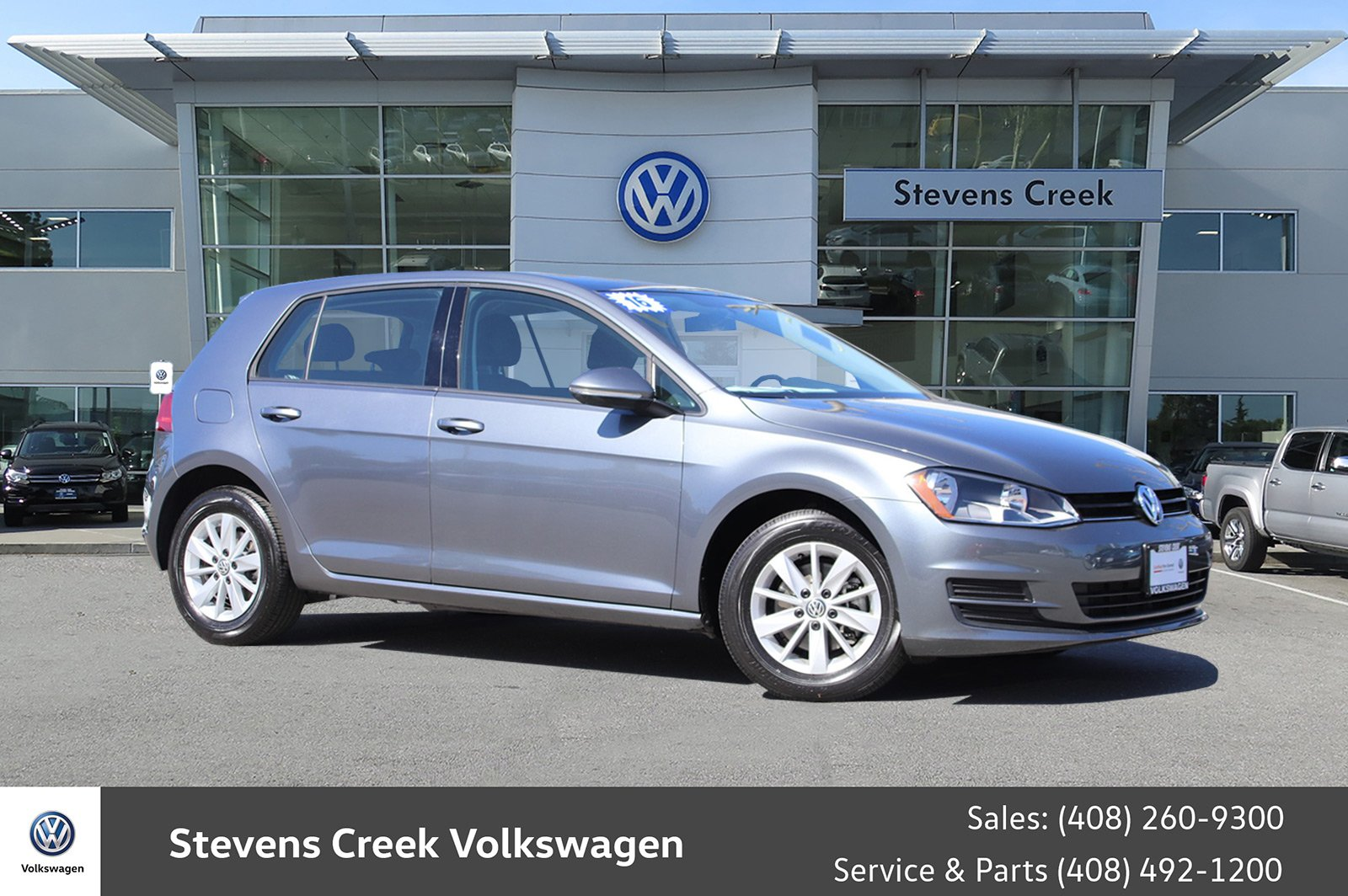 Certified Pre Owned 2016 Volkswagen Golf Tsi S Hatchback