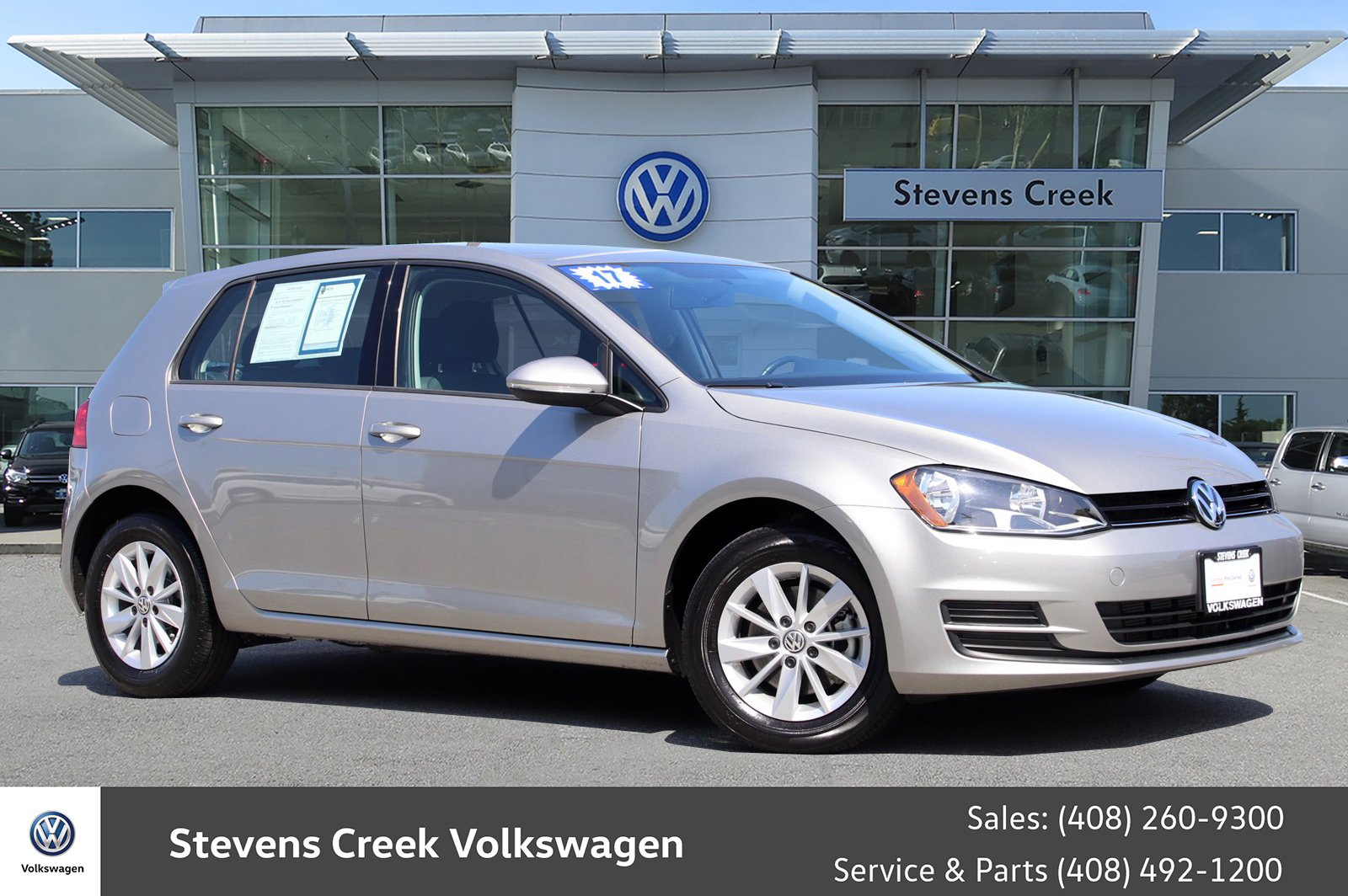Certified Pre Owned 2017 Volkswagen Golf Tsi S Hatchback