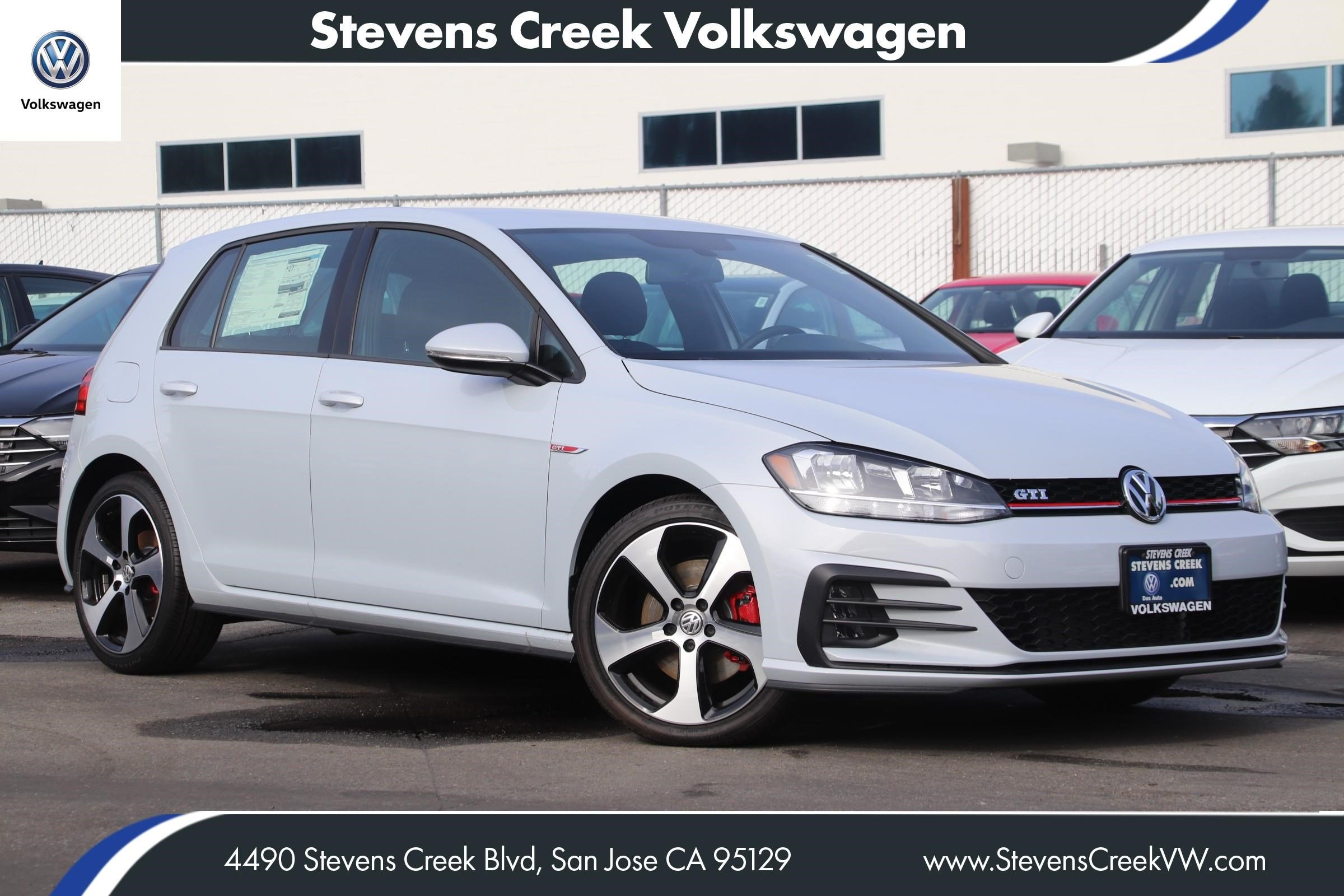 New 2018 Volkswagen Golf Gti S Hatchback In San Jose V180859