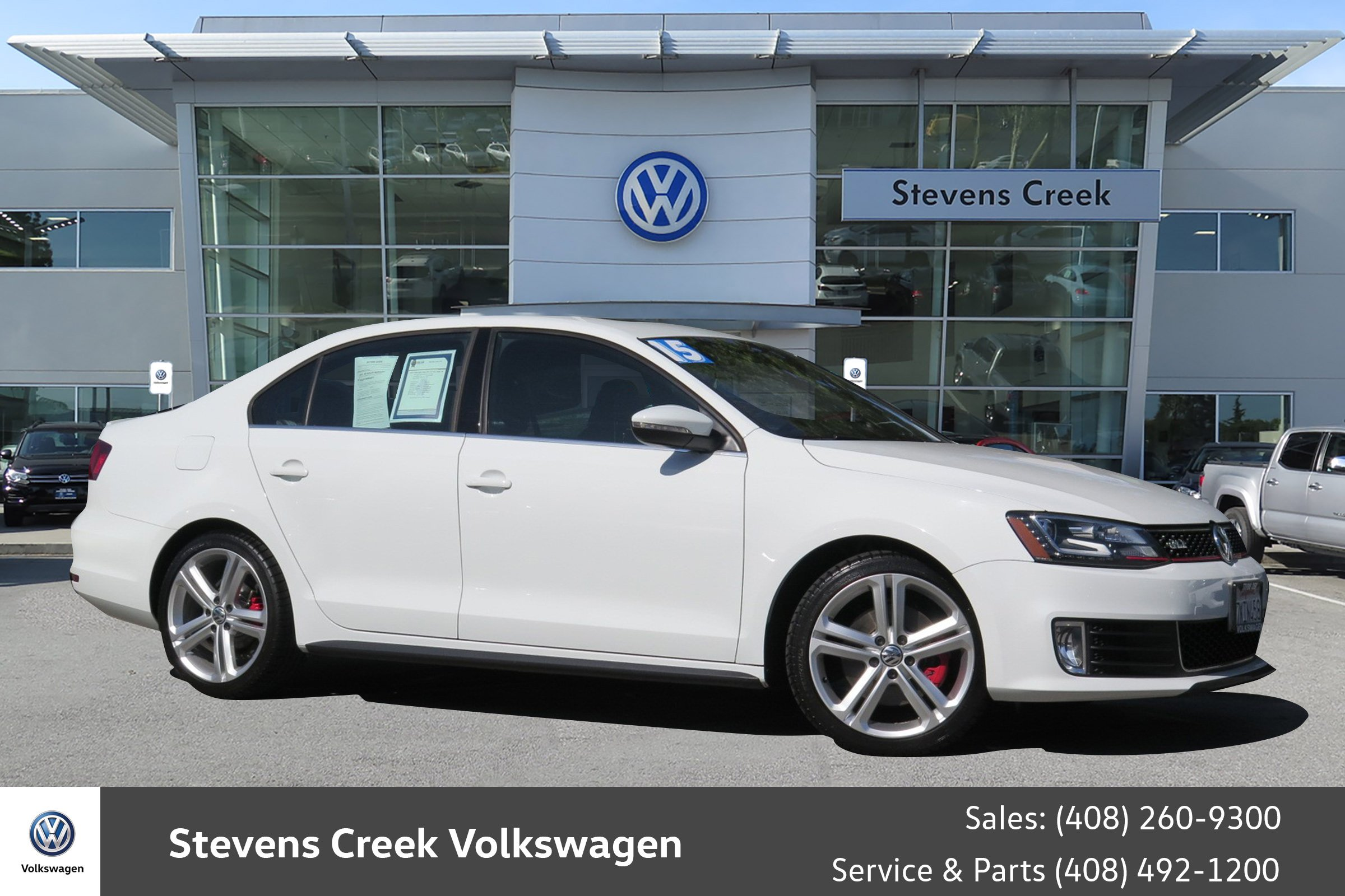 Pre Owned 2015 Volkswagen Jetta Sedan 2 0T GLI SEL 4dr Car in San