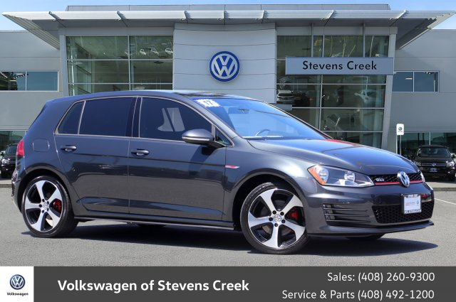 Certified Pre-Owned 2017 Volkswagen Golf GTI S Hatchback