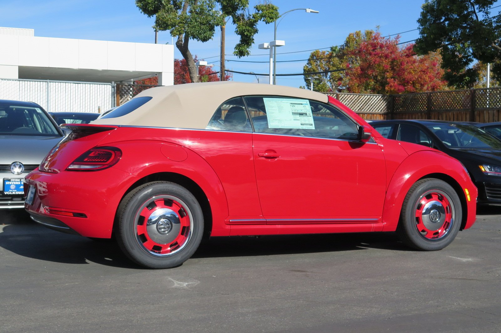 New 2018 Volkswagen Beetle Convertible Coast Convertible in San Jose #V180136 | Stevens Creek ...