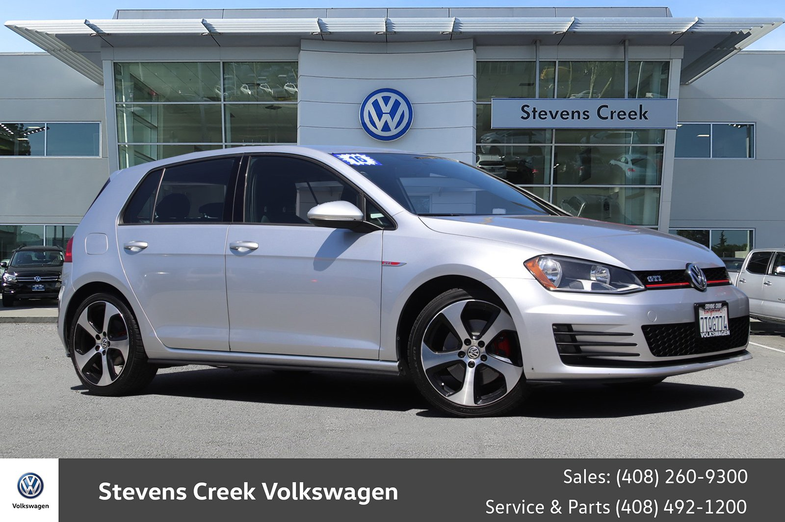 Certified Pre Owned 2016 Volkswagen Golf Gti S Hatchback