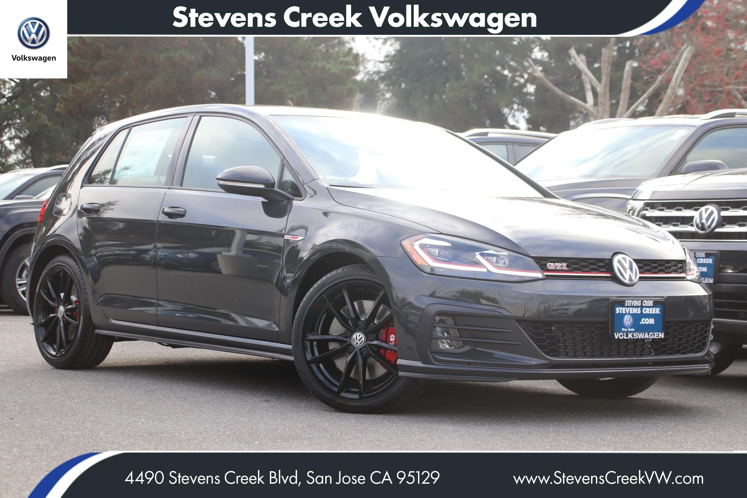 New 2019 Volkswagen Golf Gti Rabbit Edition Hatchback In San Jose Vw Engine Cooling System