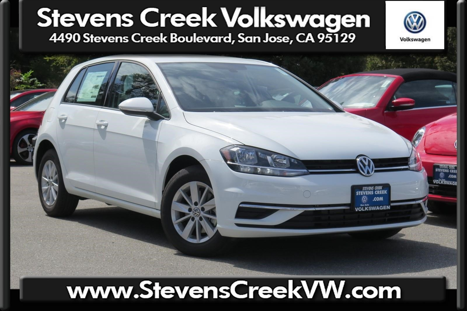 New 2018 Volkswagen Golf S FWD Hatchback VIN JM265358 MSRP $22,080