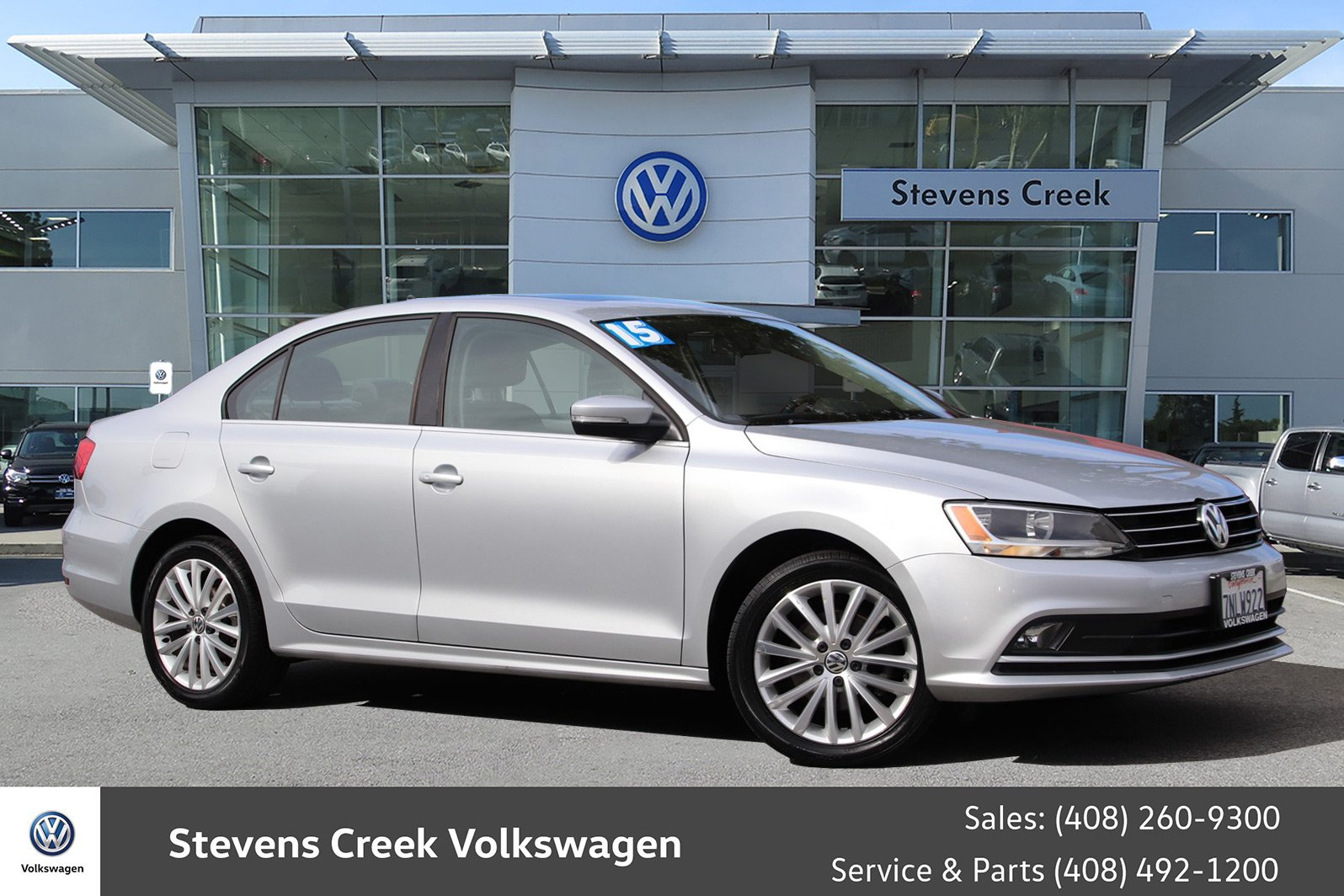 Pre-Owned 2015 Volkswagen Jetta Sedan 1.8T SE