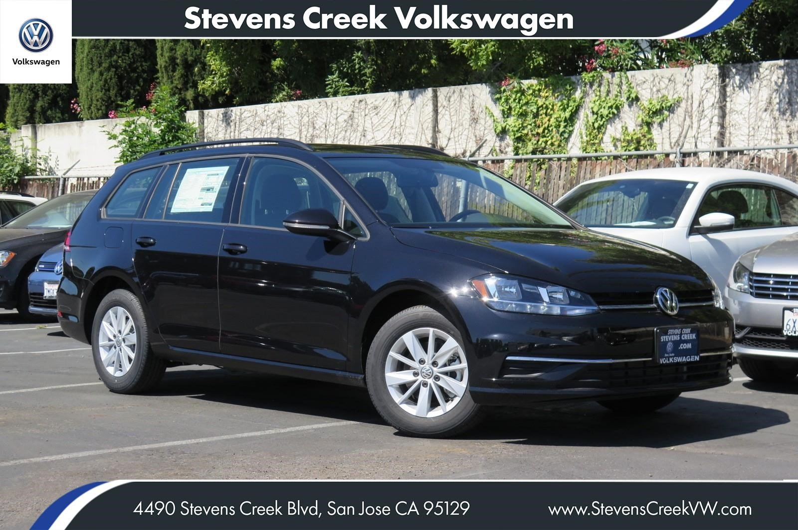 New 2018 Volkswagen Golf SportWagen S FWD Station Wagon VIN# JM756711 MSRP $23,990