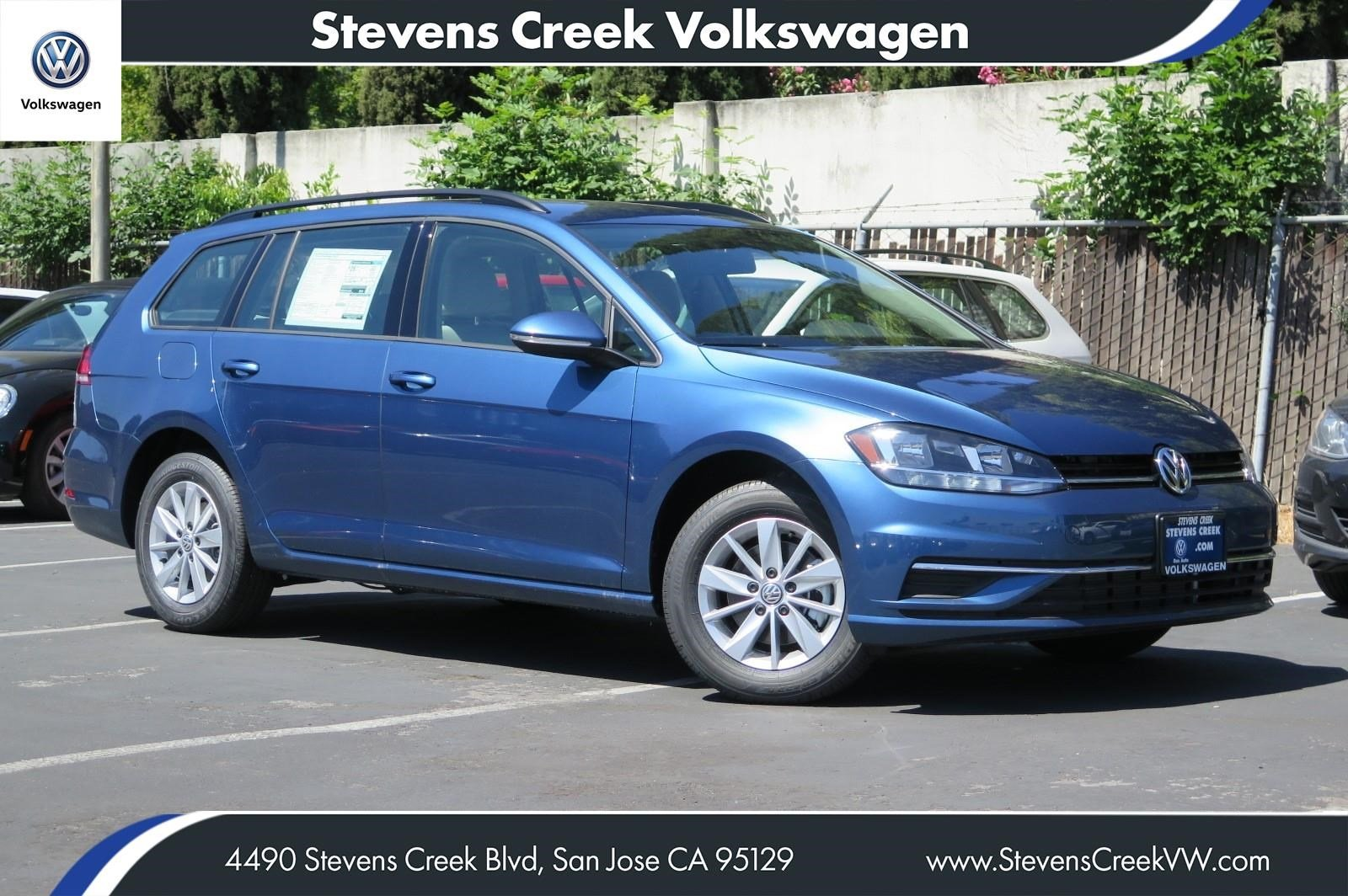 New 2018 Volkswagen Golf SportWagen S FWD Station Wagon VIN# JM763694 MSRP $23,990
