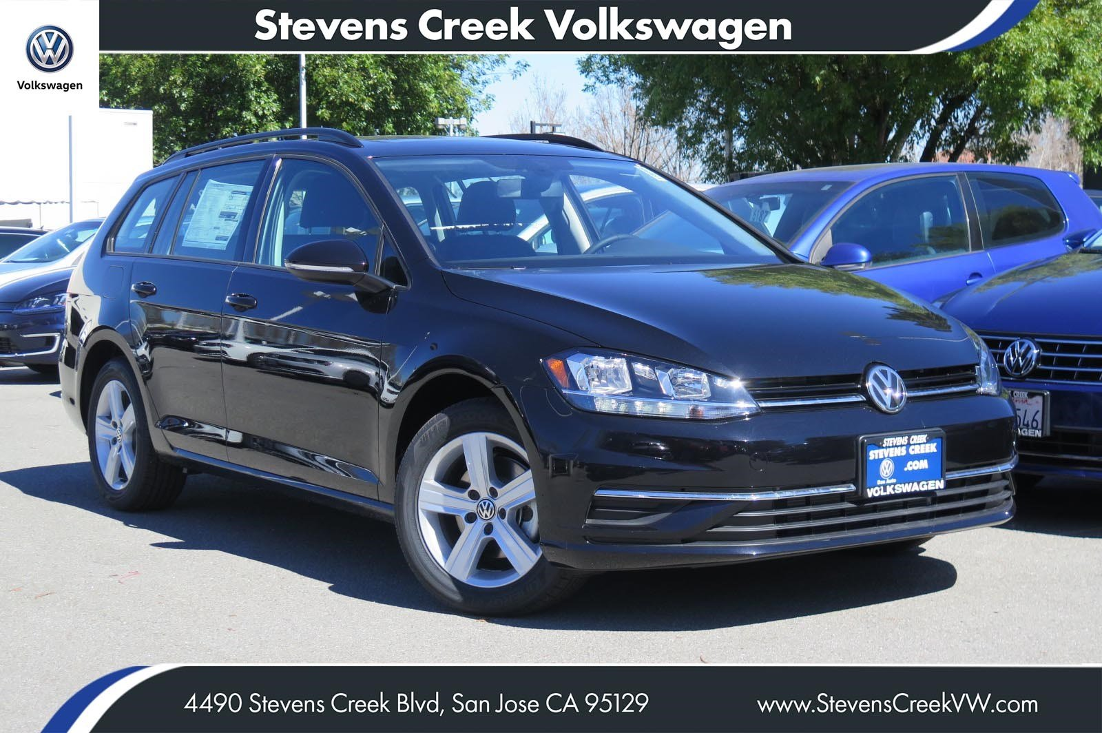 New 2018 Volkswagen Golf SportWagen SE FWD Station Wagon VIN# JM755989 MSRP $28,590