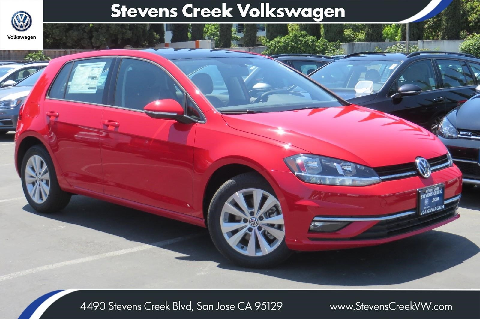 New 2018 Volkswagen Golf SE FWD Hatchback VIN JM251705 MSRP $26,025