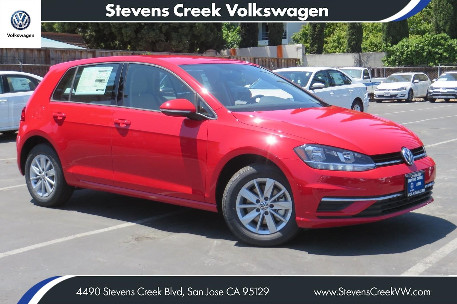 New 2018 Volkswagen Golf S FWD Hatchback VIN# JM265873 MSRP $23,180
