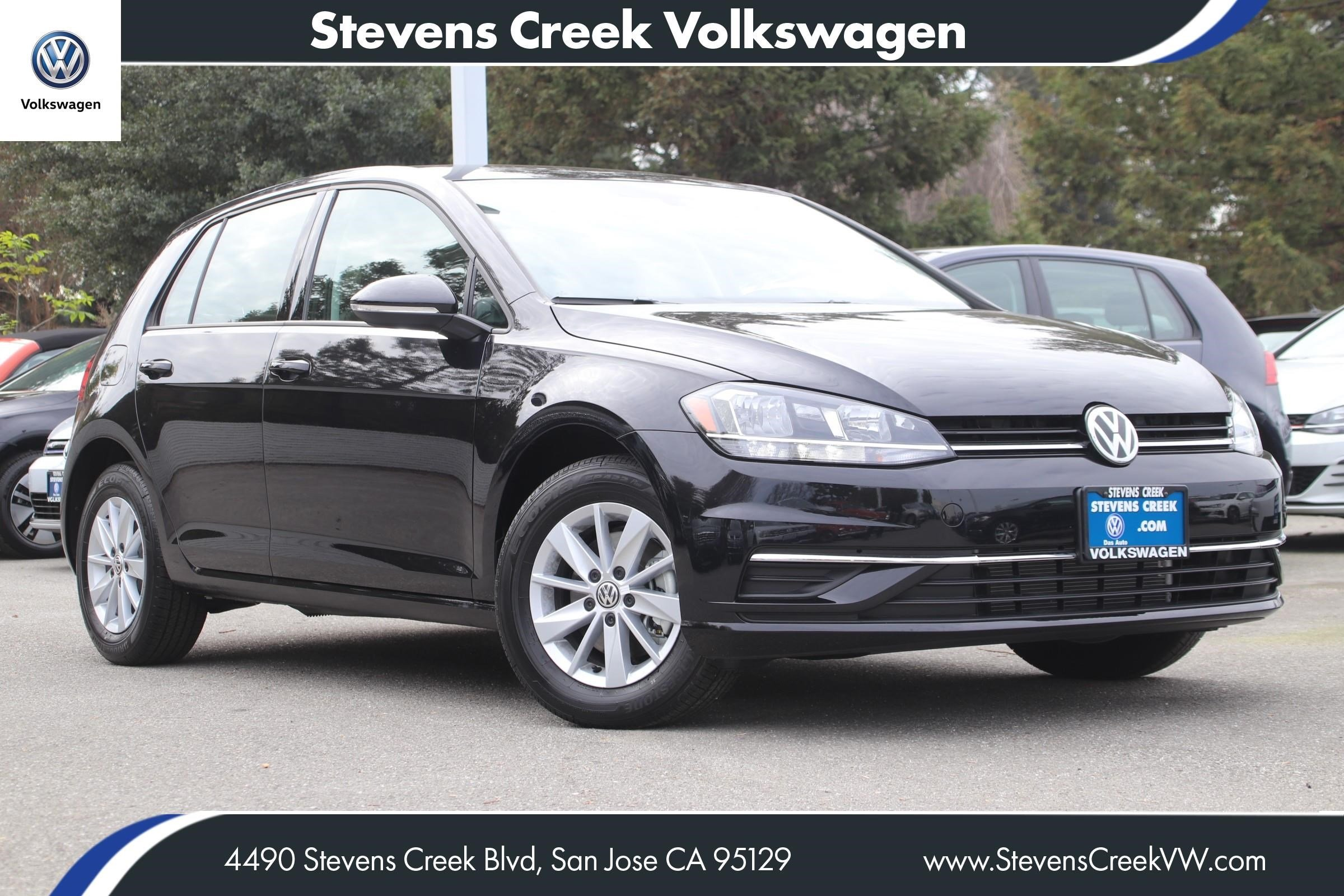 New 2019 Volkswagen Golf S FWD Hatchback VIN# KM002388 MSRP $24,110
