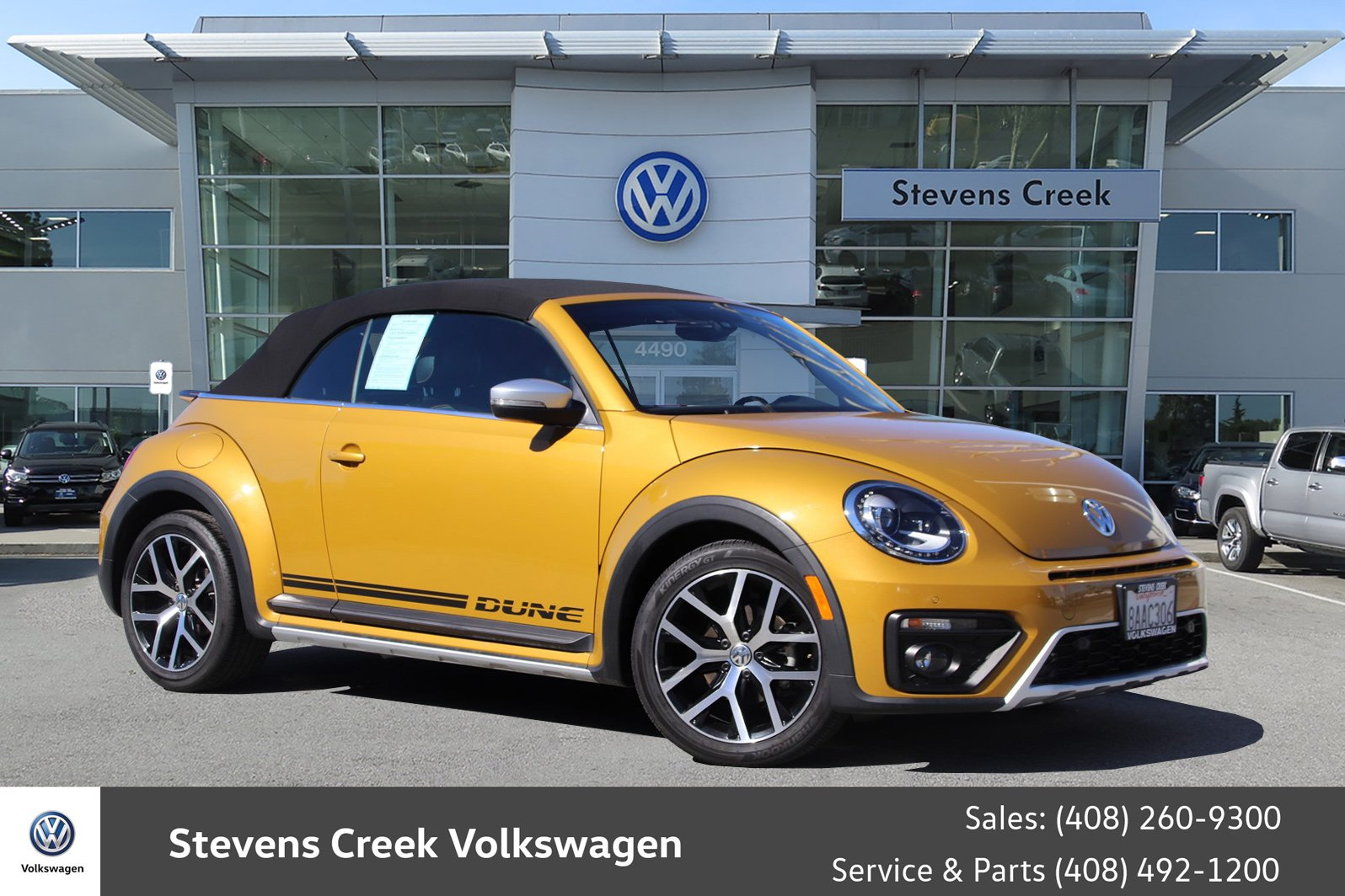 Pre Owned 2017 Volkswagen Beetle Convertible 1 8t Dune