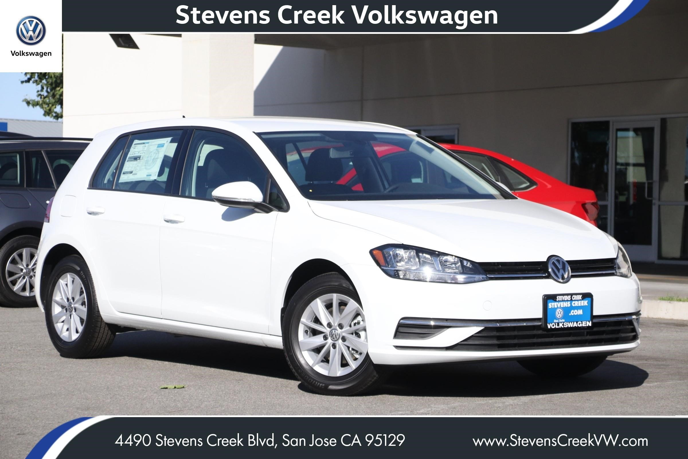 Sign then Drive Event! New 2019 Volkswagen Golf S FWD VIN 3VWW57AU5KM031781 MSRP $23,010