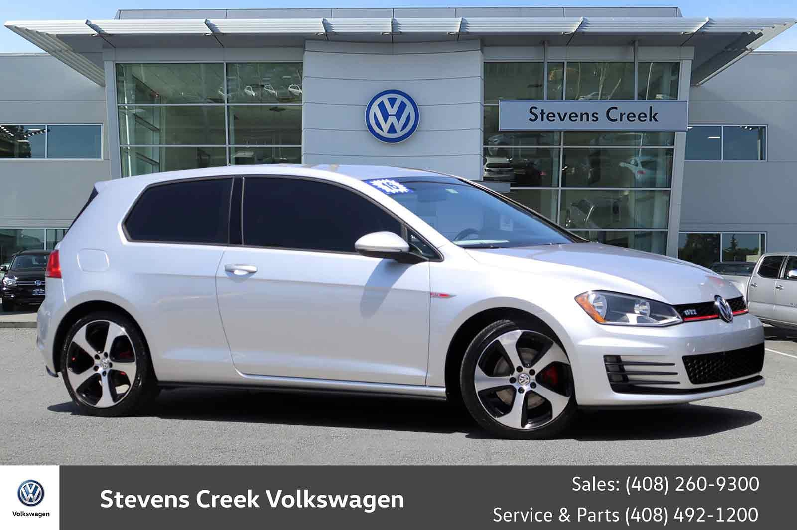 Certified Pre-Owned 2016 Volkswagen Golf GTI S Hatchback