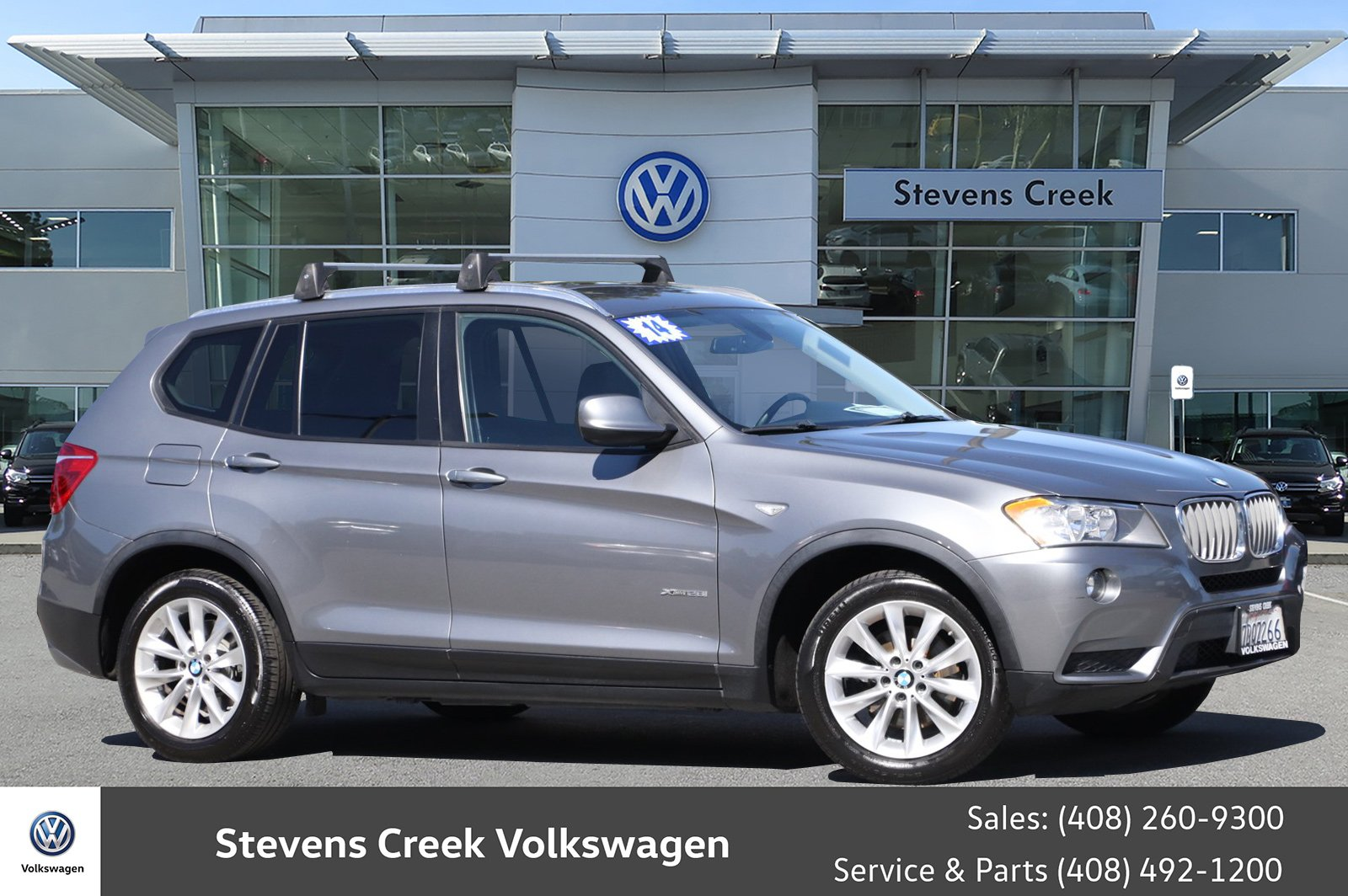 Stevens Creek Bmw Service >> Pre Owned 2014 Bmw X3 Xdrive28i With Navigation Awd
