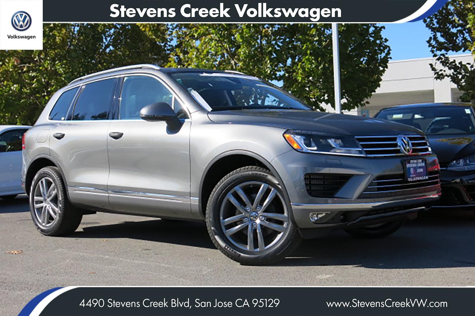 New 2016 Volkswagen Touareg Lux With Navigation & AWD VIN# GD001228 MSRP $59,005
