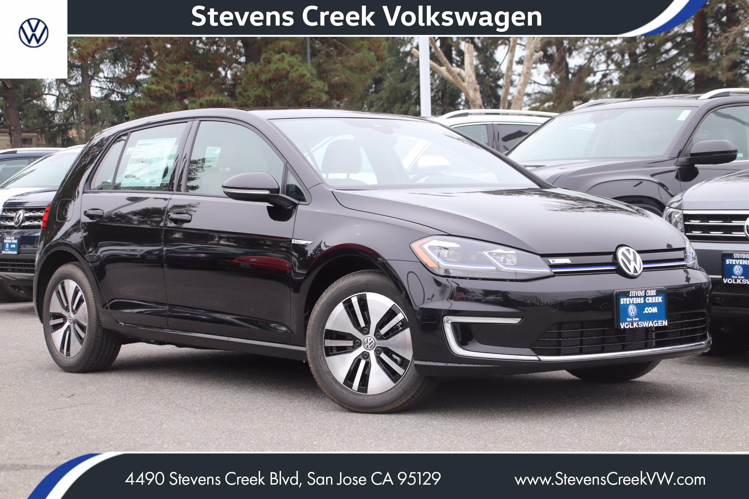 New 2019 Volkswagen e-Golf SEL Premium With Navigation