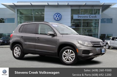 Pre-Owned 2015 Volkswagen Tiguan 2.0T S 4Motion